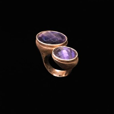 Anillo Gemstones Amatistas