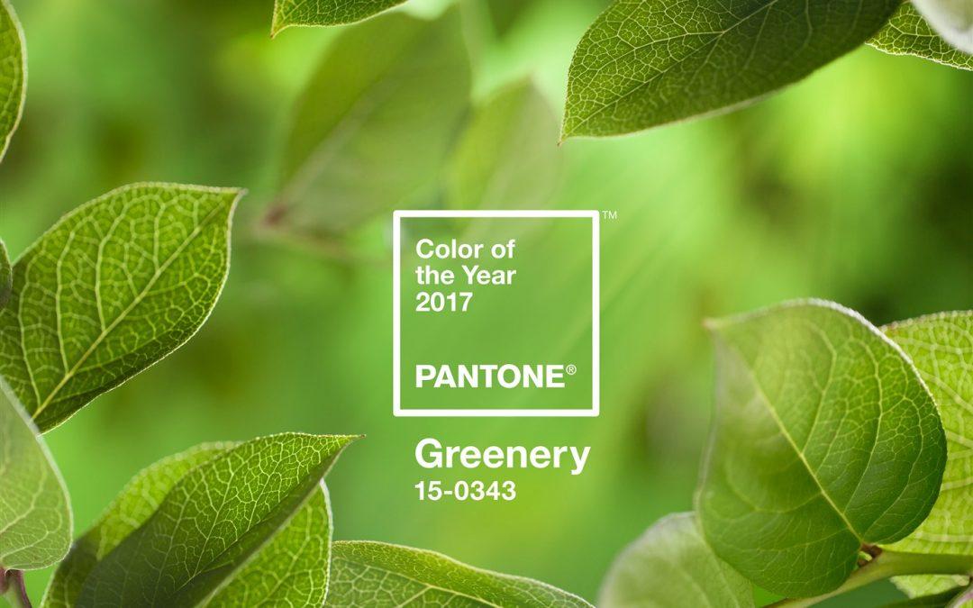 Greenery, el color del año, también en joyería
