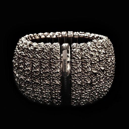 Brazalete Caviar XL Bronce Negro