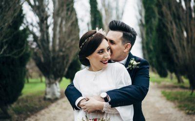 Todo el encanto de una boda de invierno