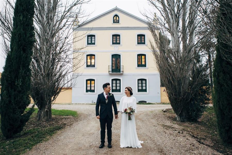 Una boda de invierno: Joyería para novios