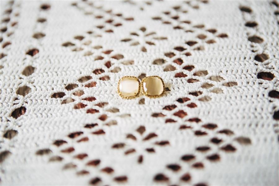 Una boda de invierno: Pendientes de novia