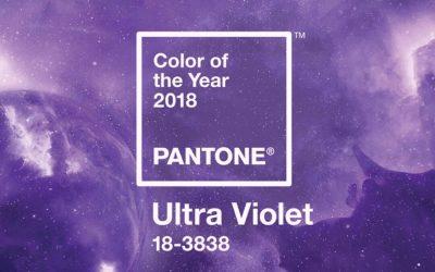 También en joyería Ultra Violet es el color de 2018