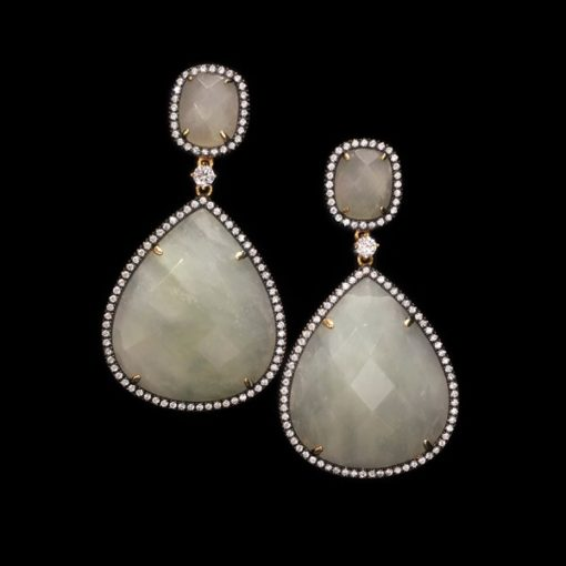 Pendientes Gemstones Granate Tsavorita