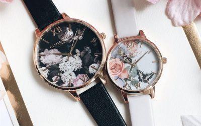 Esta primavera los relojes con flores llegan para quedarse: Olivia Burton en Zaragoza
