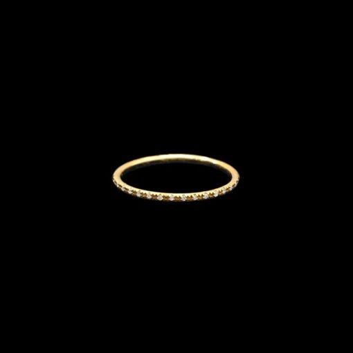 Anillo Eggo de oro y diamantes Passeo