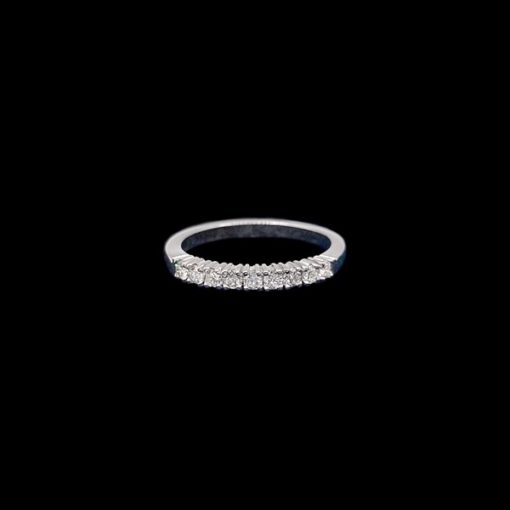 Anillo Forever de oro blanco y diamantes Lighty 0.63