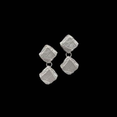 Pendientes Meteora de plata Caronte
