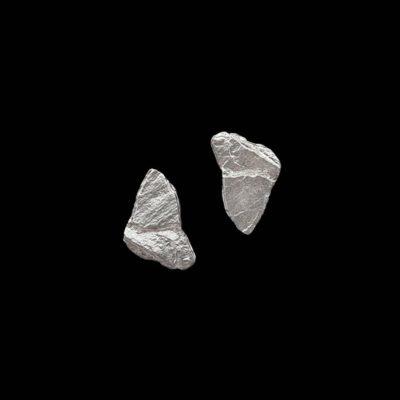 Pendientes Meteora de plata Ganimedes